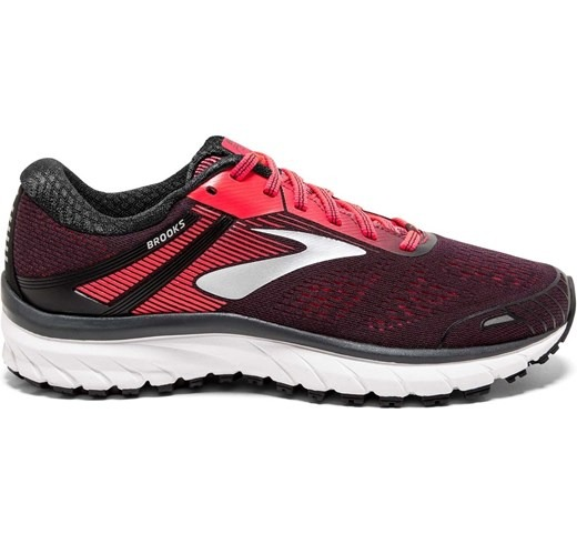 Brooks Adrenaline GTS 18 Nero-Rosa Donna