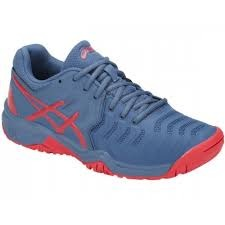 Asics Gel-Resolution 7 GS Blu-Rosso Junior