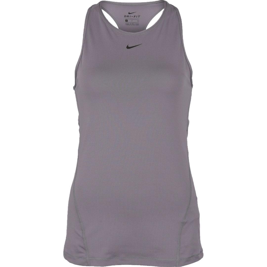 Nike Fall Pro Tank Grigio Donna 1