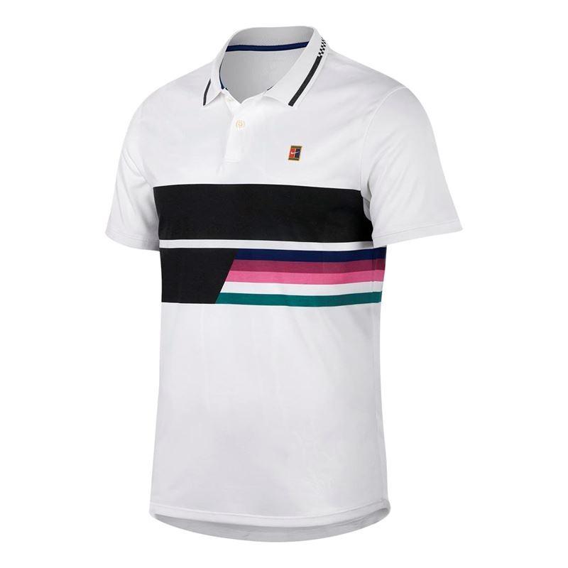 Nike Court Polo Bianco Uomo 1