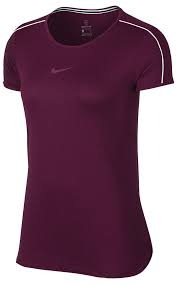 Nike Spring Court Top Bordeaux Donna 1