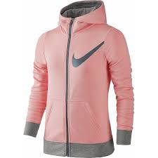 Nike Spring FZ Graphic Hoodie Melone Bambina