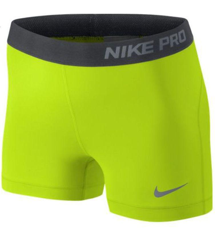 Nike Pro 3'' Shorty Giallo Donna