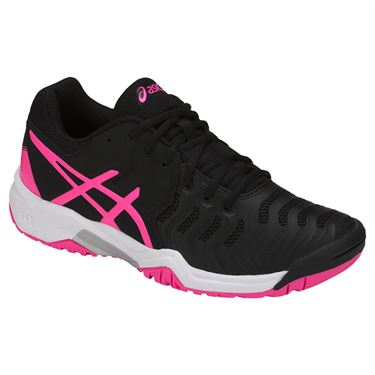 Asics Gel-Resolution 7 AC Nero-Rosa Junior