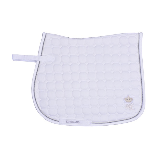 Kingsland Modock Saddle Pad white Dressage
