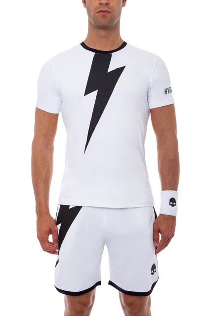 Hydrogen Tech Thunderbolt T-Shirt White