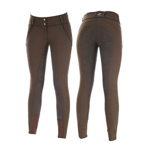 Chevalibe  Full Seat Trouser DK Brown Ladies