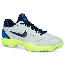 Nike Air Zoom cage 3 HC Grigio-Giallo-Blu