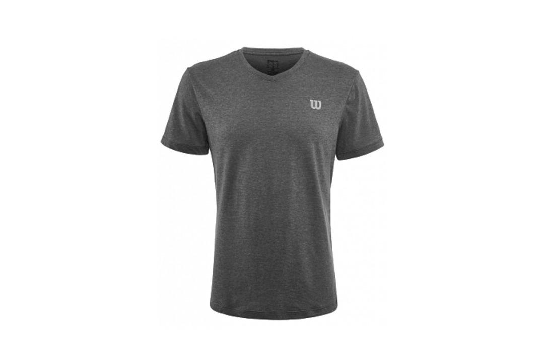 Wilson Training T-Shirt V-Neck Grigia Uomo 1