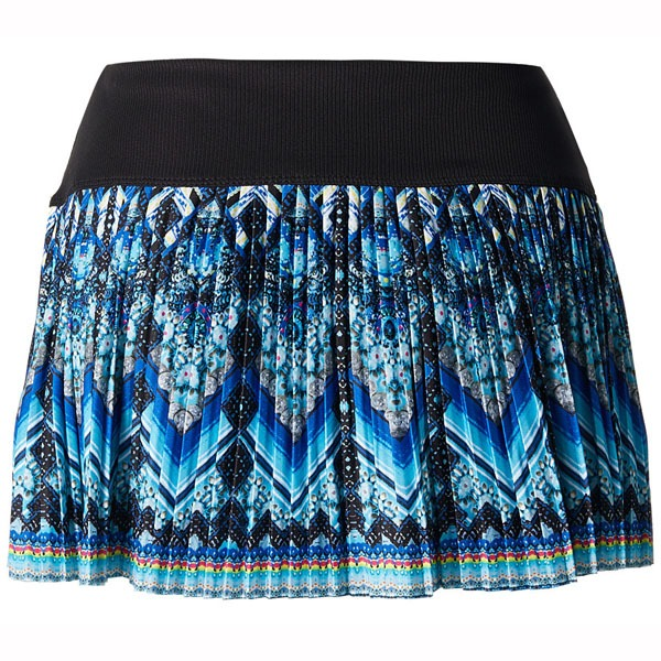 Lucky in Love Pandora Pleated Skirt Blu Mul Donna 1