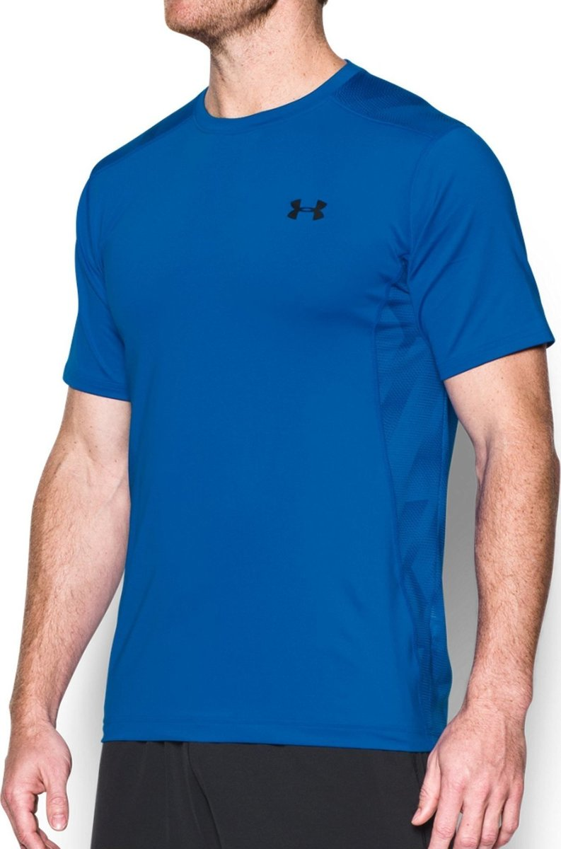 Under Armour T-Shirt Summer Raid Blu Scuro Uomo