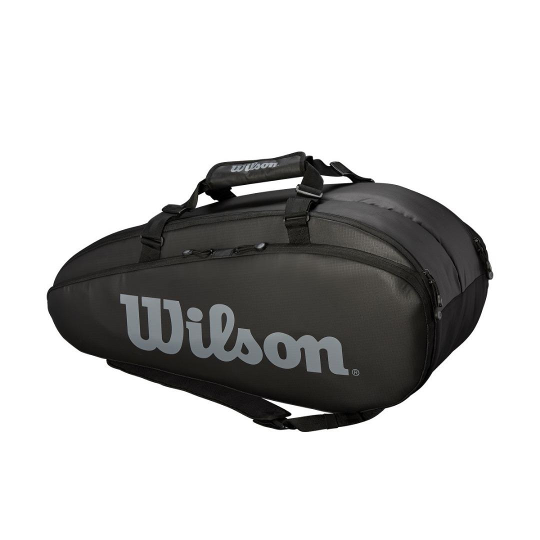 Wilson Super Tour 2 Comp Black Grey Large
