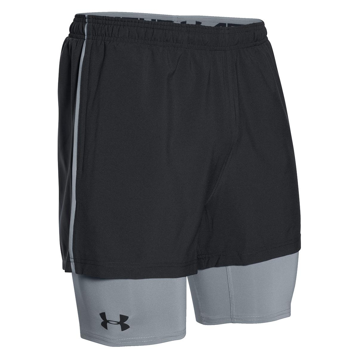 Under Armour 2-in-1 Trainer Short Nero Uomo