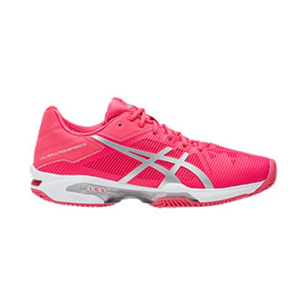 Asics Gel-Solution Speed 3 Clay Rosso-Bianco Donna 1