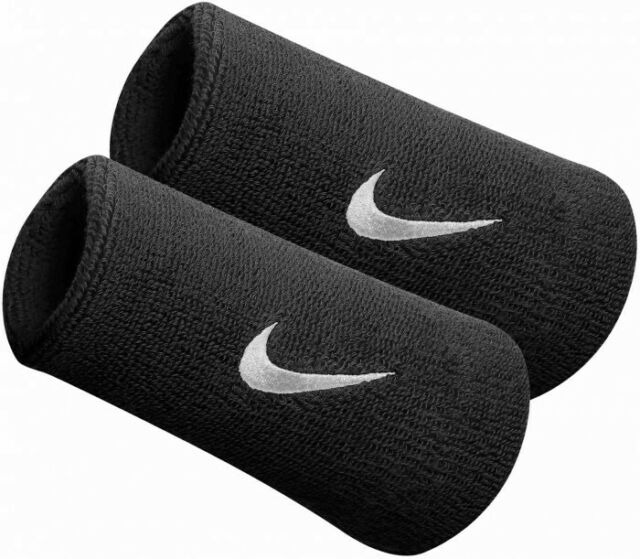 Nike Polsini Jumbo Neri (2x)