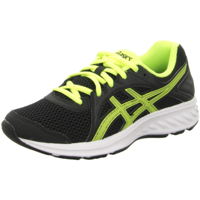 Asics Jolt 2 GS Black-Yellow Bambino