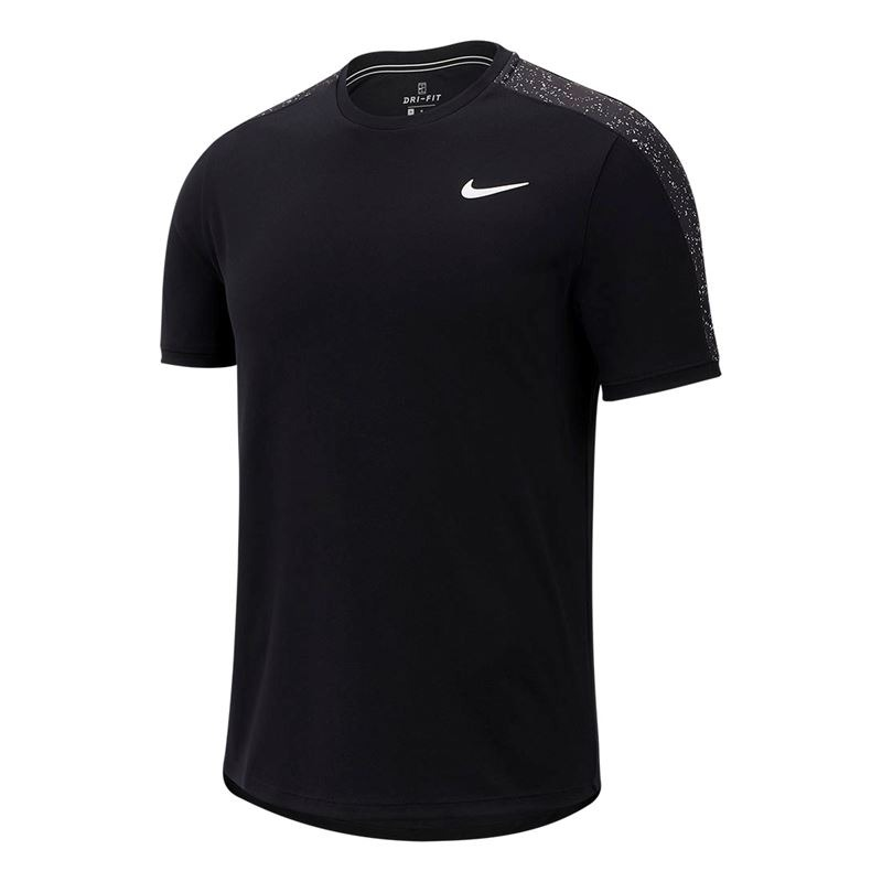 Nike T-Shirt Fall Graphic Crew Nero Uomo