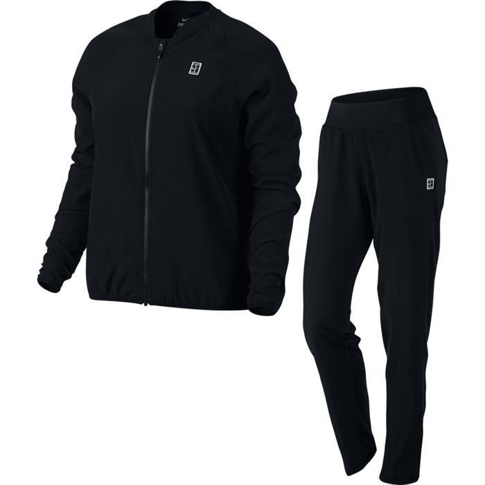 Nike Basic Woven Warm-Up Nero Donna 1
