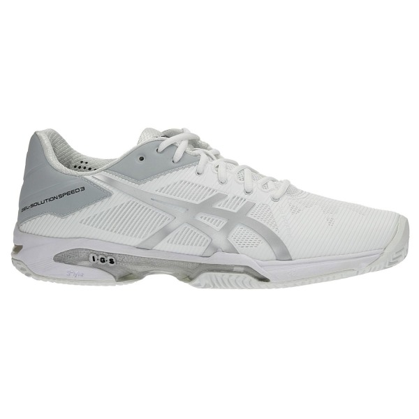 Asics Gel-Solution Speed 3 Clay Bianco Uomo 1