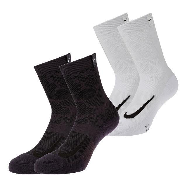Nike Multipler Cushioned Sock Multi Mixed White-Black (2x)