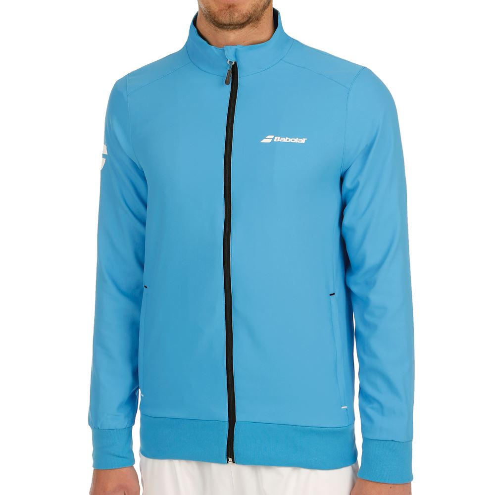 Babolat Core Club Jacket diva blue Uomo
