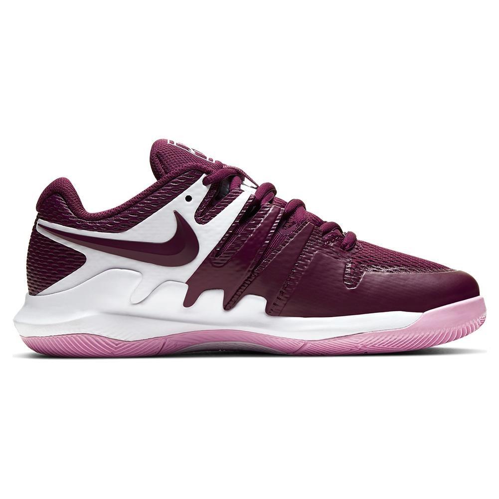 Nike Vapor X Bianco Bordeaux Junior