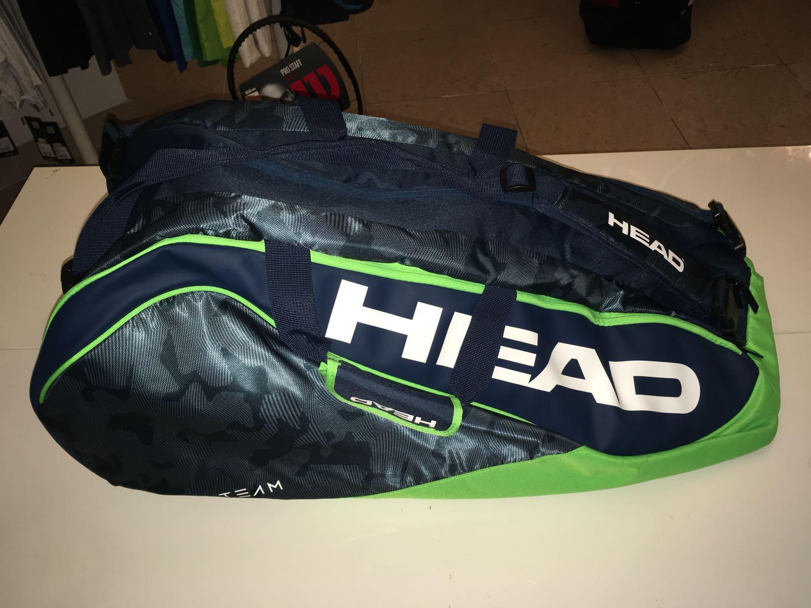 Head Borsa Tour Team 12R Combi Navy-Verde
