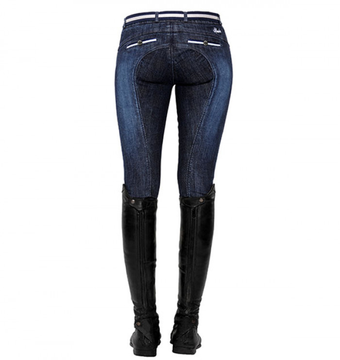 Spooks Ricarda Knee Grip Jeans Denim Donna