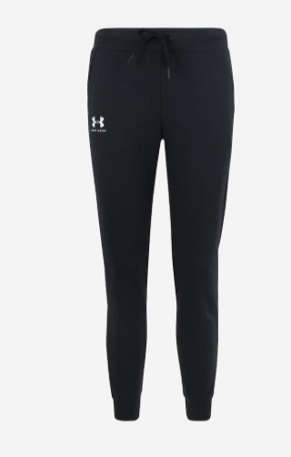 Under Armour Rival Fleece Sportstyle Pant Black Donna