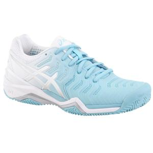 Asics Gel-Resolution 7 Clay Azzurro-Bianco Donna