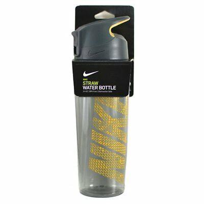Nike Straw Borraccia Nero-Arancione 625 ml 1