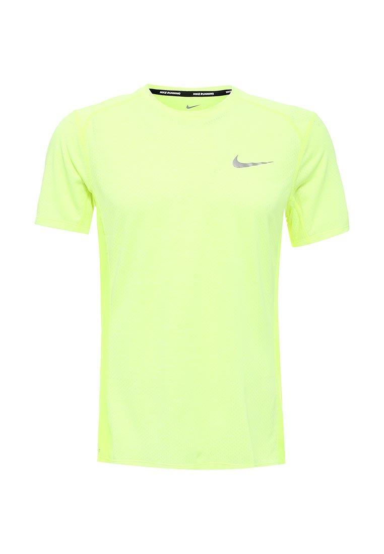 Nike Maglietta Summer Miler Breathe Cool Giallo Uomo
