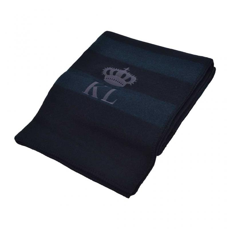 Kingsland Galena Wool Blanket Nero