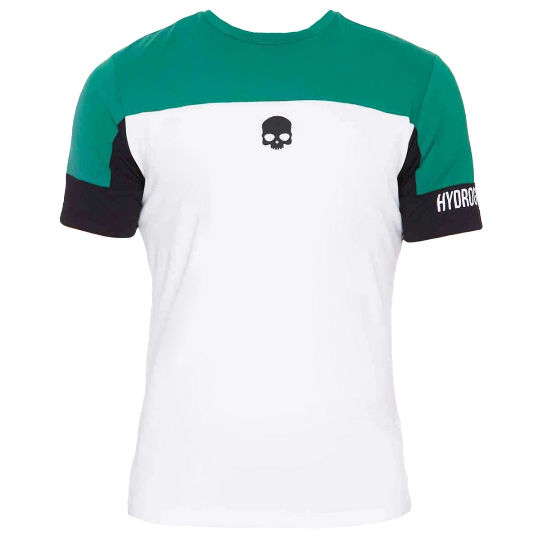 Hydrogen Tech Italia T-Shirt White green Uomo