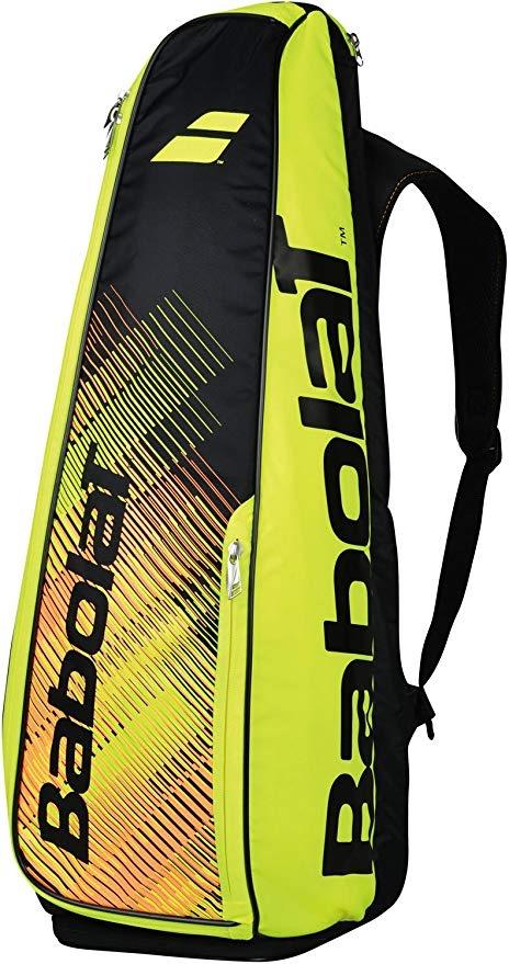 Babolat Badminton Zaino 8x Giallo-Nero