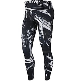 Nike Tight Epic Lux Black-Bianco Donna