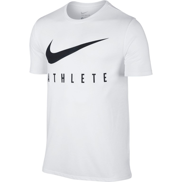 Nike Dry Athlete Training T-Shirt Bianco Uomo
