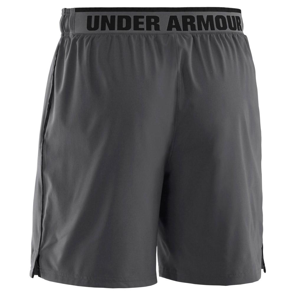 Under Armour Short Heatgear Grigio Uomo 1