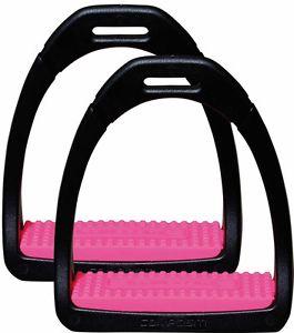 Kunstoff Steigbügel Premium  Einlage Pink