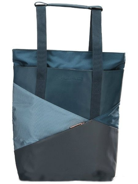 Head Tote Navy Bag
