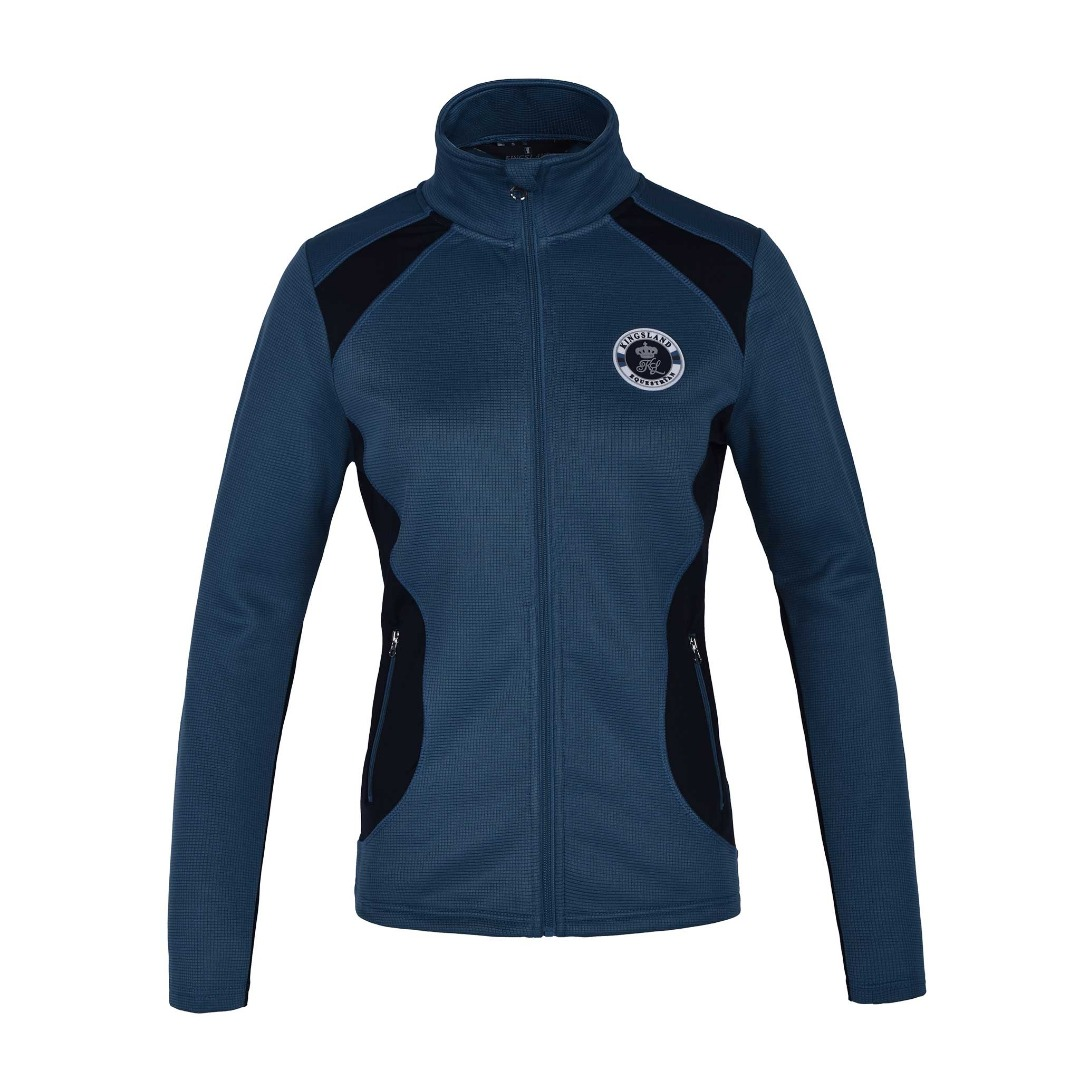 Kingsland Klnovi Fleece Jacket Blu Real Donna 1