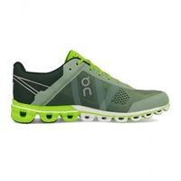 ON CloudFlow Moss-Lime Uomo