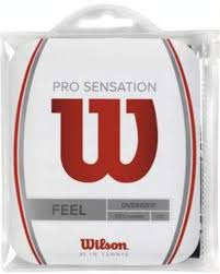 Wilson Pro Overgrip Sensation Nero (12x) 1