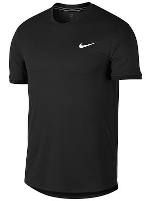 Nike Dry Court T-Shirt Crew Nero Uomo