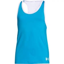 Under Armour Tank Azzurro Bambina
