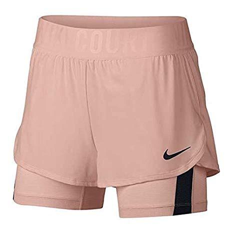 Nike Dry Ace Short Salmone Chiaro Donna
