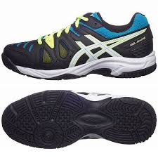 Asics Gel-Game 5 GS Nera-Gialla-Blu Junior