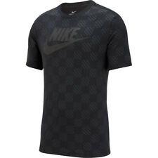 Nike T-Shirt Triple Black Uomo 1
