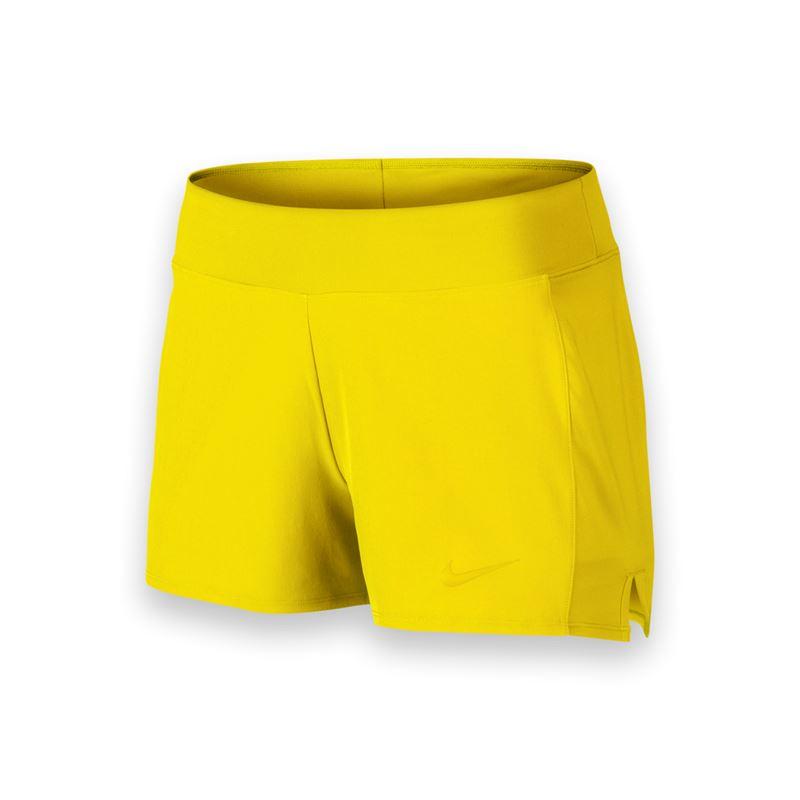 Nike Short Baseline Long Giallo Donna 1