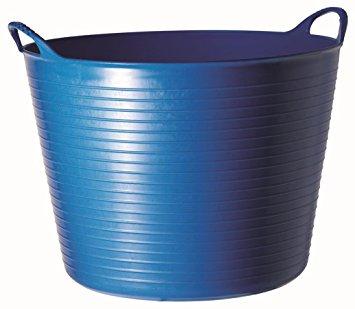 Flexibler Eimer 30 l Blau